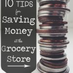 10 Tips for Saving Money at the Grocery Store | Your monthly grocery bill can make or break your budget. Spend less and save more with this list of simple money-saving tips and tricks.
