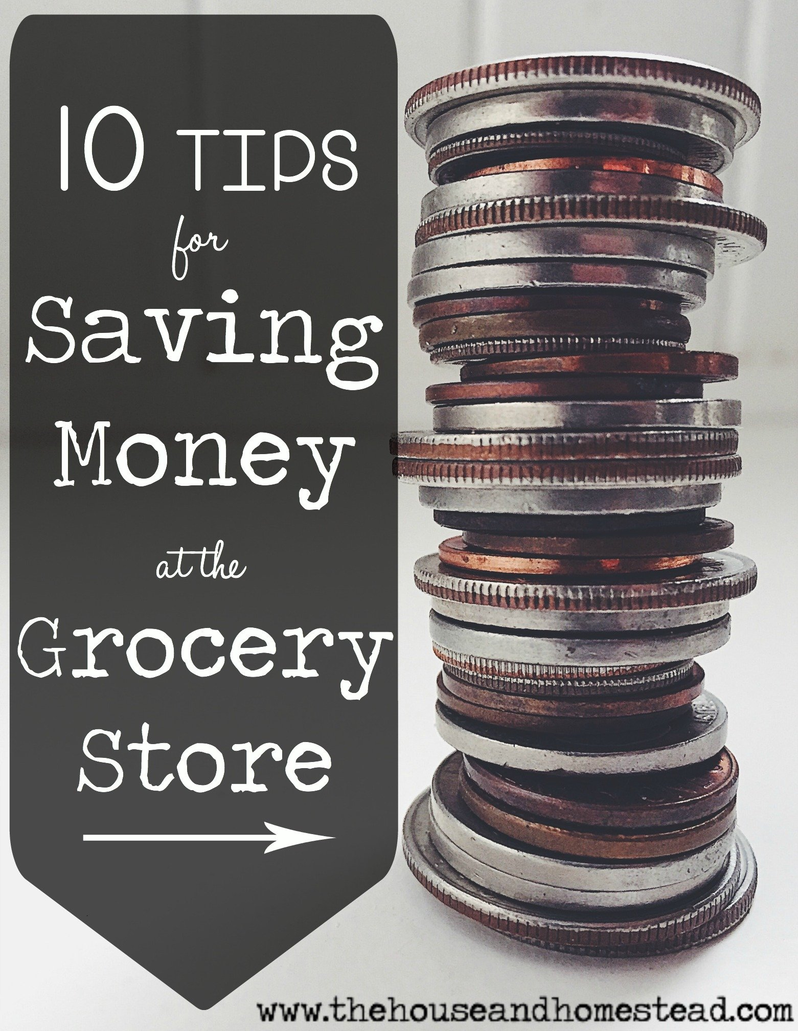 10 Tips for Saving Money at the Grocery Store | Your monthly grocery bill can make or break your budget. Spend less and save more with this list of simple ways to save money at the grocery store.