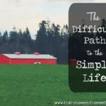 The Difficult Path to the Simple Life | I reveal the hardest part of my move from city girl to small-town homesteader, valuing moments over money, learning to slow down and savour the simple life