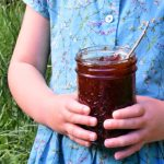 This pectin-free strawberry jam canning recipe utilizes the natural pectin in strawberries to create a homemade jam that tastes just like summer in a jar. Plus, the optional addition of vanilla makes this classic strawberry jam taste just like a strawberry sundae! #strawberryjamrecipe #howtocanstrawberryjam #strawberryvanillajam #strawberryjamcanningrecipe