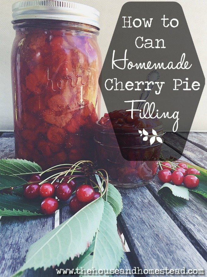 Cherry pie is a sweet summer treat. But you can just as easily preserve it for enjoyment all year long! Here is a super easy (and tasty) recipe for canning cherry pie filling at home.