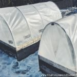 A row cover is like a mini, mobile greenhouse for your outdoor garden. You can use a row cover to extend your growing season in the fall, winter and early spring by using it to cover your in-ground or raised garden beds. The best part is, You can make your own row cover with simple building materials in a single afternoon, and customize it to fit your garden beds. Learn how with this DIY row cover tutorial! #rowcover #diyrowcover