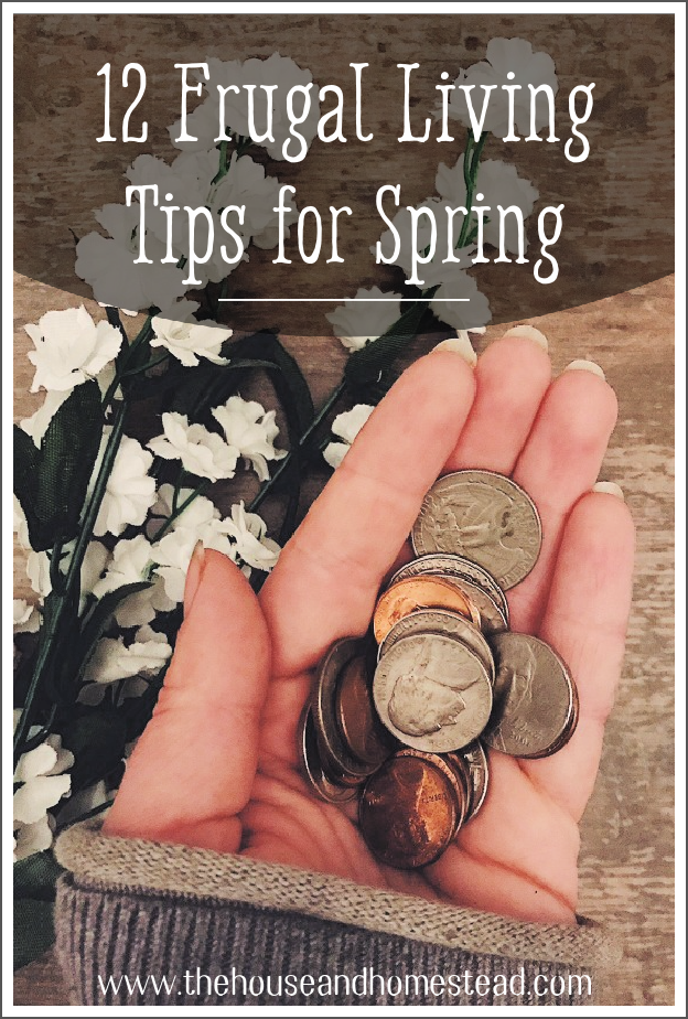 Make the most of spring for the least amount of money with these 12 frugal living tips for spring. Enjoy the simple things in life this season! #frugaltips #frugallivingtips #savemoney