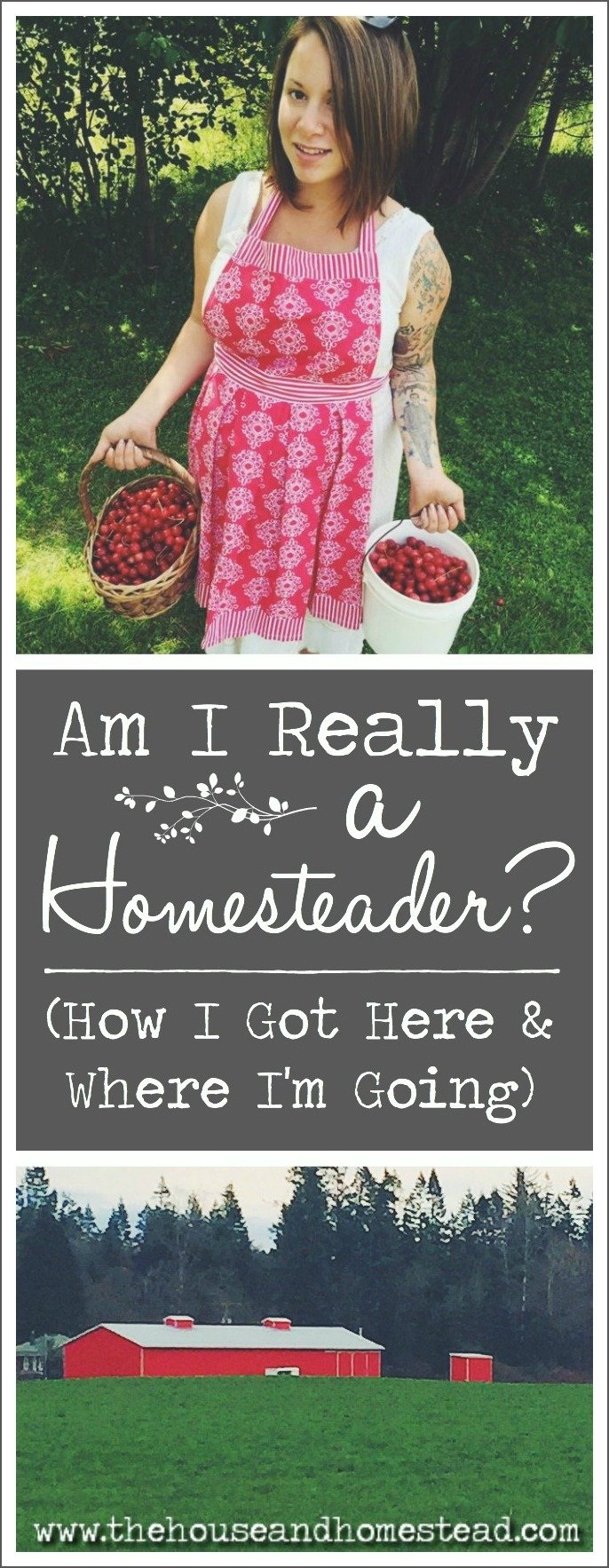 Have you ever wondered whether you can really call yourself a homesteader or felt like other people think homesteading is just a phase you'll grow out of? I have. But guess what: I am a homesteader, among many other things that led me to where I am today. This is my story.