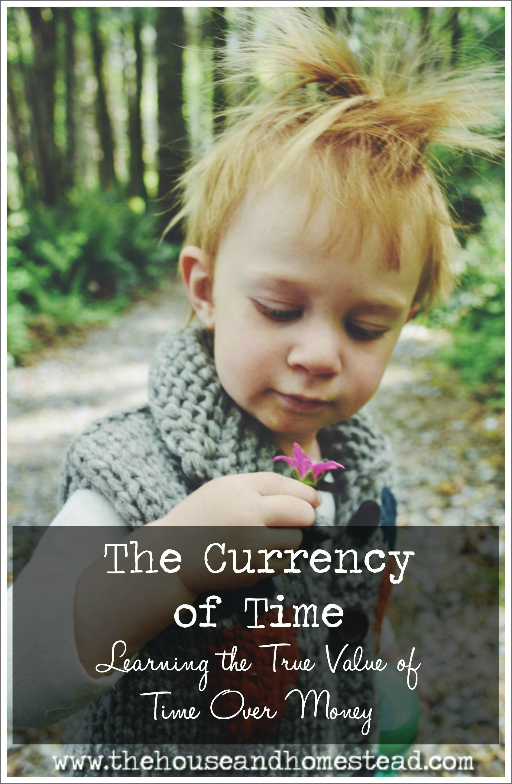Time is a currency, just like money. But time is more valuable than money. I share my personal story of how a job loss led to discovering the true riches in life through learning the true value of time and all that it can buy.