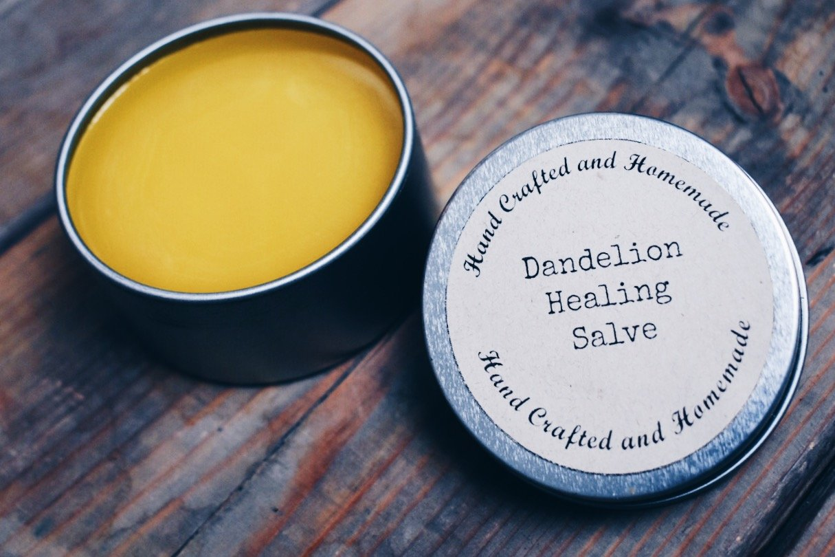 DIY Dandelion Salve for Healing