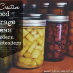 Having too much food and not enough space to store it all isn't a bad problem to have. But it's still a problem nonetheless! Here are 11+ creative food storage ideas to help you store your food stash for good times and bad. Because you just never know when that zombie apocalypse is going to hit! #foodstorage #foodstorageideas #storagesolutions #pantryorganization