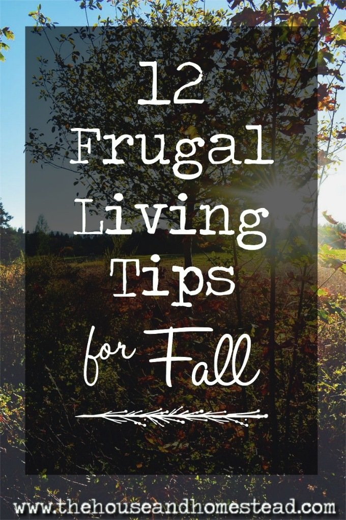 Fall is the time of year when we get back to schedules and routines. This also makes it the perfect time of year to get back to budgeting, saving money and living well within our means. Here are 12 frugal living tips to help you save money and live well this fall season. #fallsaving #frugalfall #frugalliving #frugaltips #personalfinance #savemoney