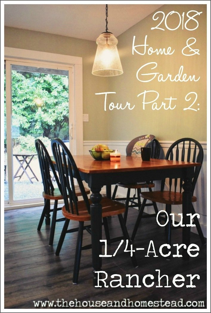 This is our 1/4-acre property that we're turning into a homestead and real modern farmhouse. Come along fora home & garden tour and watch the transformation! #hometour #farmhousetour #homesteading #modernfarmhouse