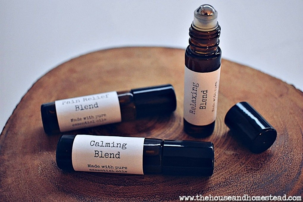 DIY Essential Oil Rollerballs for Fall & Winter