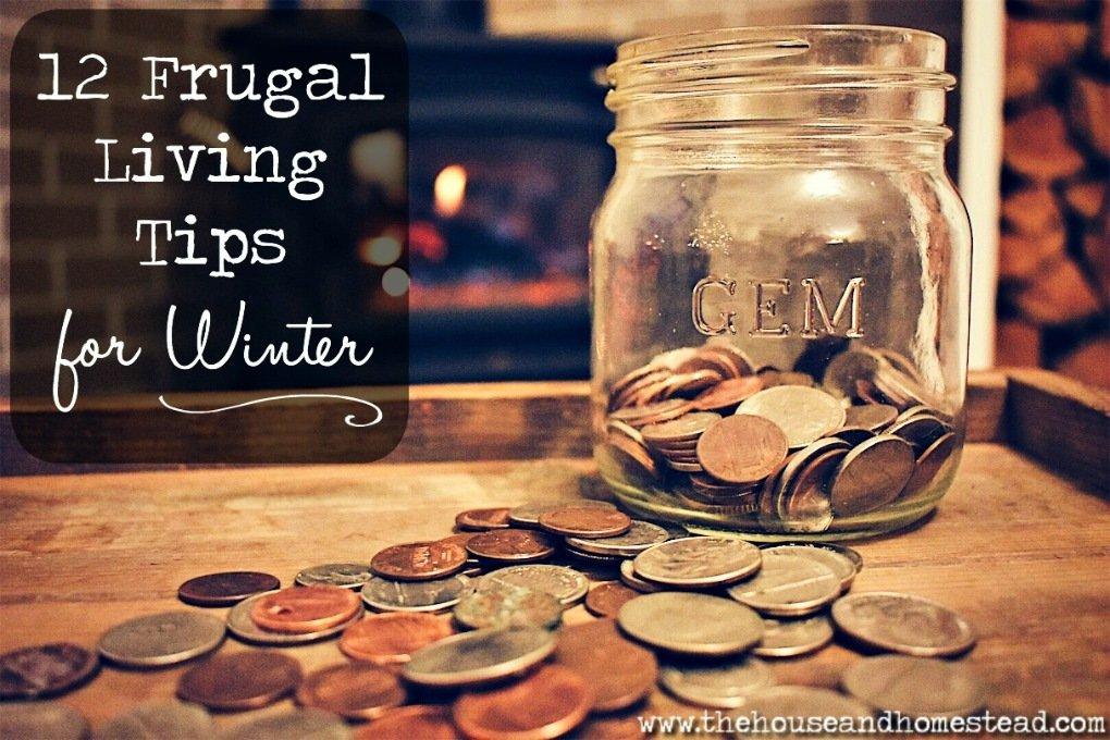 12 Frugal Living Tips for Winter