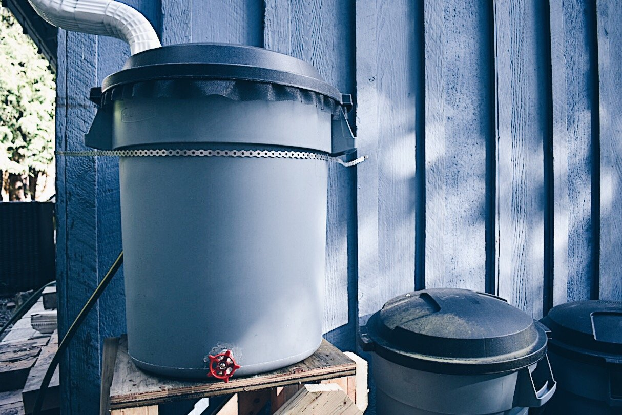 Homemade Rain Barrel DIY Project