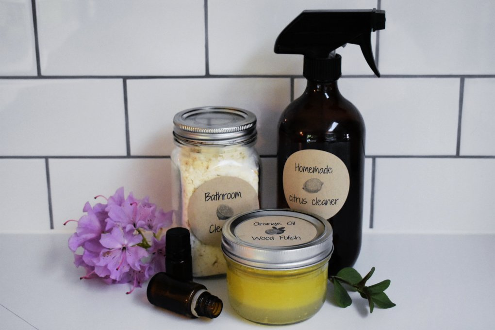 Spring Cleaning Recipes with Essential Oils