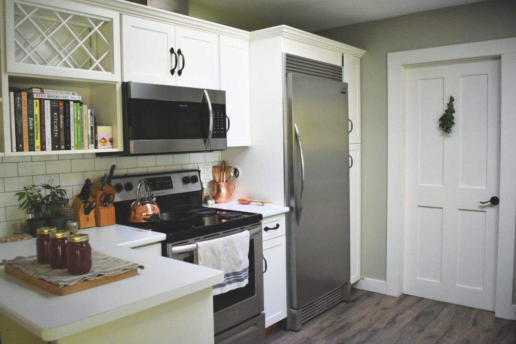 Modern homestead kitchen