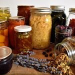 There are many ways to preserve food at home. Learn which foods can be canned, dehydrated, fermented, infused, dry cured and more with this in-depth guide to home food preservation. #foodpreservation #waystopreservefood #preserving