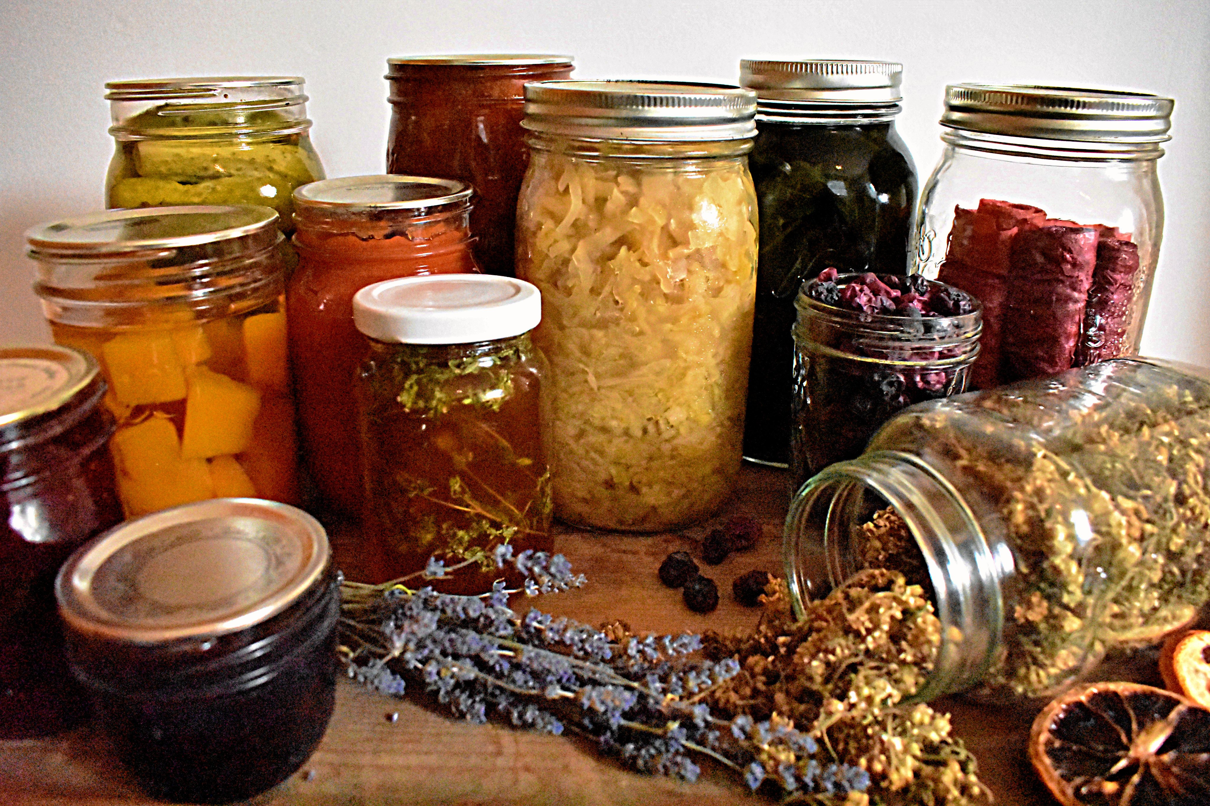 8 Ways to Preserve Food At Home