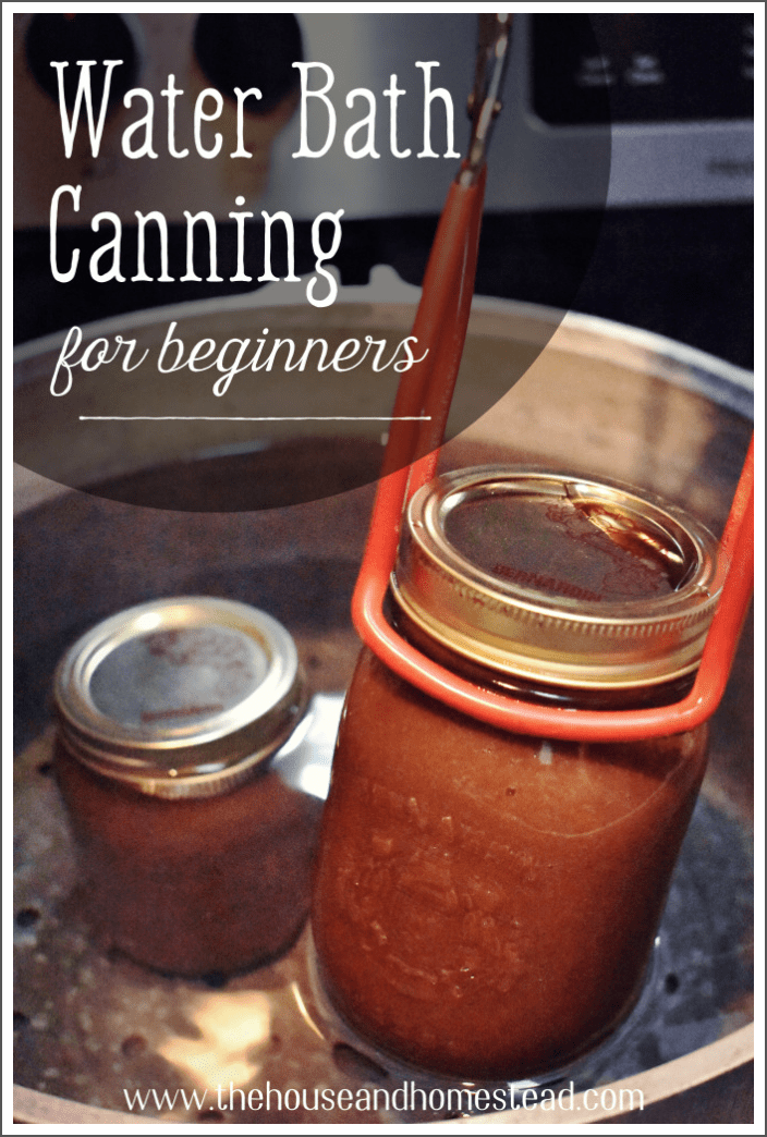 Water bath canning is an easy way to preserve food at home. Learn the basics with this beginner's guide to water bath canning and start canning jams, jellies, fruits, pickles, salsa and so much more! #waterbathcanningforbeginners #waterbathcanning