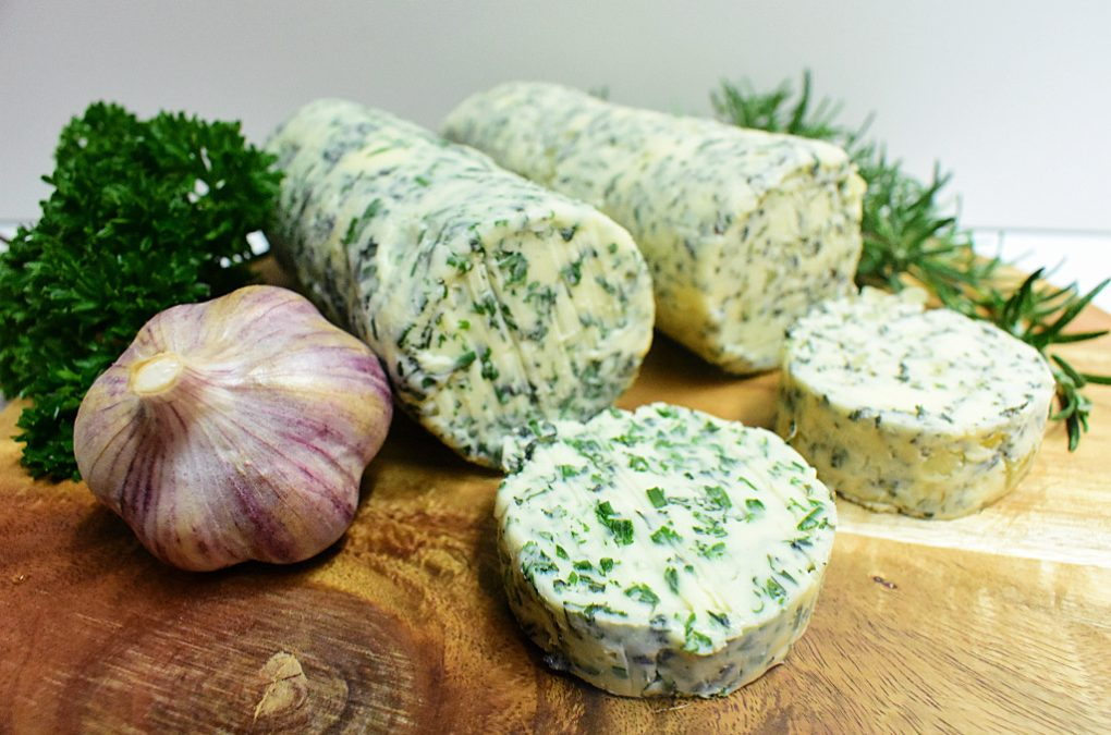 Homemade Herb Butter (aka. Compound Butter)