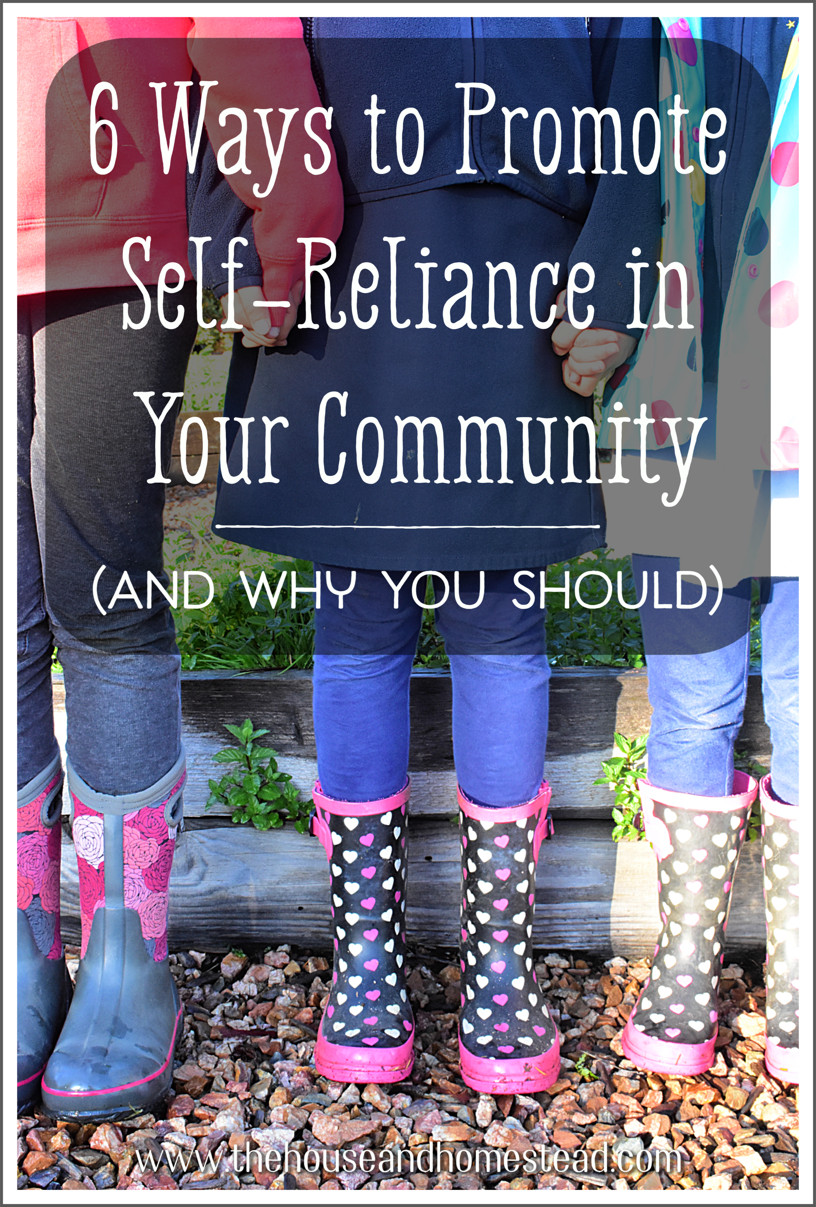 Self-reliance isn't just about being able to provide for yourself with your own two hands. Your own self-reliance is intrinsically tied to the larger world around you. Learn how to promote self-reliance in your community and, in turn, support your own security and self-sufficiency. #selfreliance #supportyourcommunity #foodsecurity #selfsufficiency