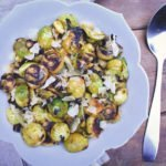 Charred Brussels sprouts | Brussels sprouts recipes | Holiday side dishes | Lemon Brussels sprouts