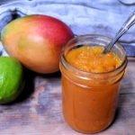 Mango Jam | Mango Lime Jam | Low-Sugar Mango Jam Recipe