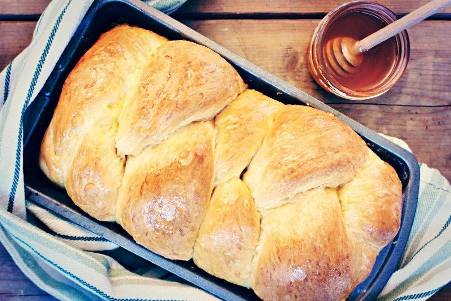 Homemade Honey Brioche Bread Recipe