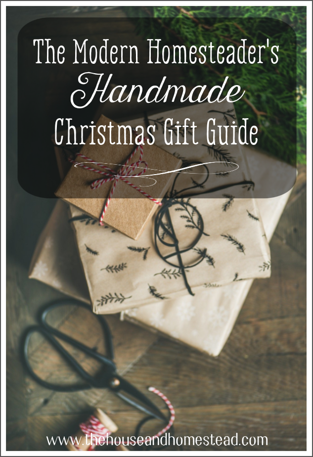 Whether you want to make your own gifts this year or find the perfect artisan-made gifts for the loved ones on your list, this handmade Christmas gift guide has everything you need to get started!