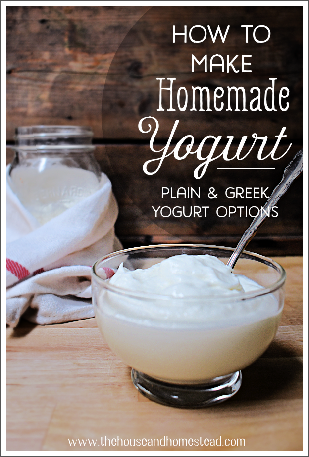Save money and eliminate added sugar by learning how to make your own homemade yogurt with live bacterial cultures. I'll show you how to make both plain and greek yogurt from scratch. It's so easy you may never buy yogurt from the store again! #homemadeyogurt #greekyogurt #plainyogurt