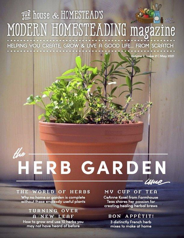 Modern Homesteading Magazine   The Sourdough Issue   February 2021