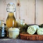Springtime is when your herbs are the most tender which makes it the best time to preserve them. Here are 4 ways to preserve herbs at home so you can enjoy them all year long! #preservingherbs #howtopreserveherbsfromthegarden #herbrecipes
