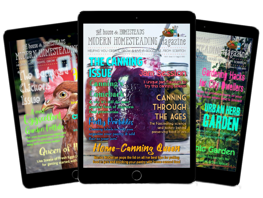 Modern Homesteading Magazine