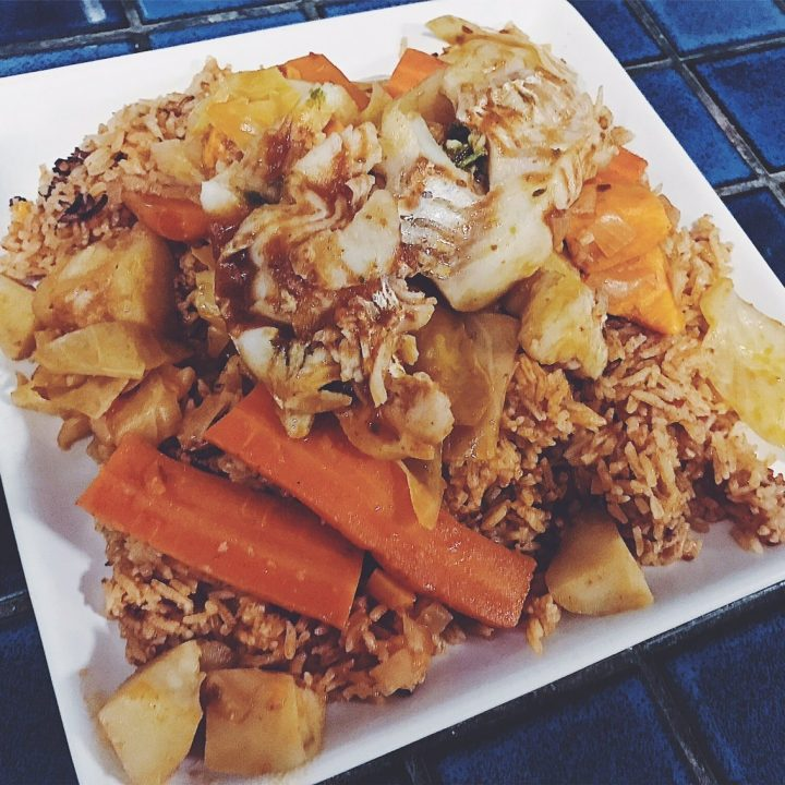 Thieboudienne: Traditional West African Fish and Rice Dish